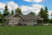 Architectural House Design - Craftsman Exterior - Other Elevation Plan #48-952