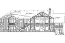 House Plan Design - Traditional Exterior - Rear Elevation Plan #5-272