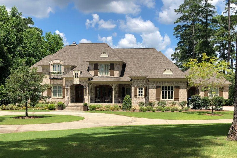 Architectural House Design - European Exterior - Front Elevation Plan #1054-93