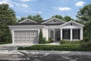 Craftsman Style House Plan - 4 Beds 2 Baths 1920 Sq/Ft Plan #930-503 Exterior - Front Elevation