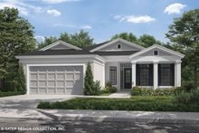 Dream House Plan - Craftsman Exterior - Front Elevation Plan #930-503