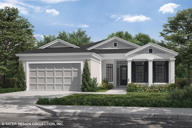 House Plan Design - Craftsman Exterior - Front Elevation Plan #930-503