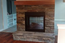 Home Plan - Kitchen Fireplace