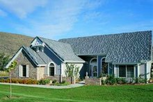 Dream House Plan - Exterior - Front Elevation Plan #72-134