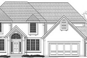 Traditional Exterior - Front Elevation Plan #67-543