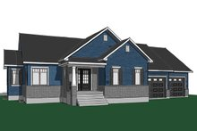 House Plan Design - Ranch Exterior - Front Elevation Plan #23-2615