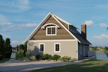 Home Plan - Beach Exterior - Front Elevation Plan #1064-26