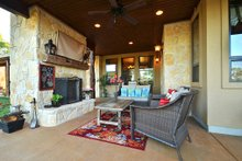 House Plan Design - Ranch Exterior - Covered Porch Plan #140-149