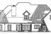 European Style House Plan - 4 Beds 4 Baths 4488 Sq/Ft Plan #17-524 Exterior - Rear Elevation
