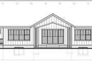 Craftsman Style House Plan - 3 Beds 2.5 Baths 2755 Sq/Ft Plan #1073-14 Exterior - Rear Elevation