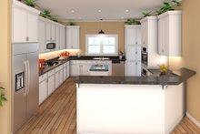Country Interior - Kitchen Plan #21-384