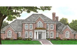 House Plan Design - European Exterior - Front Elevation Plan #310-642
