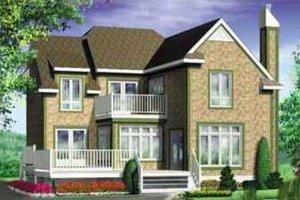 Exterior - Front Elevation Plan #25-2278