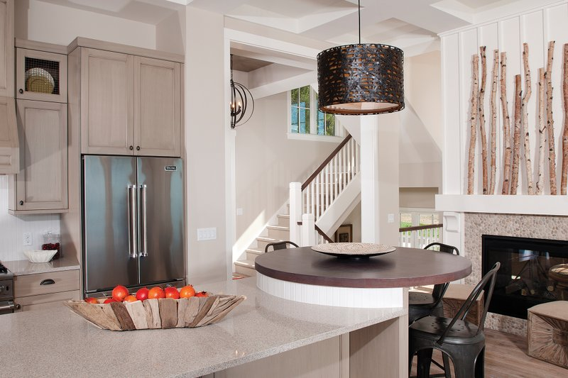 Traditional Interior - Kitchen Plan #928-11 - Houseplans.com