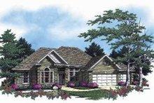 Dream House Plan - European Exterior - Front Elevation Plan #48-127