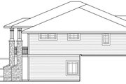 Prairie Style House Plan - 3 Beds 2.5 Baths 3867 Sq/Ft Plan #124-873 Exterior - Other Elevation