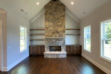 Architectural House Design - Craftsman Interior - Family Room Plan #437-113