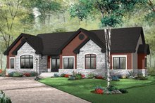 House Plan Design - Traditional Exterior - Front Elevation Plan #23-787
