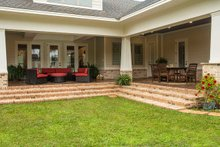 Home Plan - Prairie Exterior - Covered Porch Plan #930-463