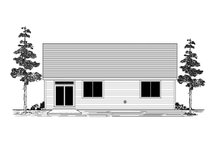 House Plan Design - Craftsman Exterior - Rear Elevation Plan #53-661