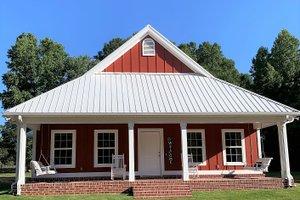 Dream House Plan - Cottage Exterior - Front Elevation Plan #44-165