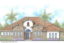 House Plan Design - Mediterranean Exterior - Front Elevation Plan #938-90