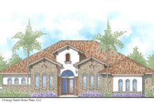 House Design - Mediterranean Exterior - Front Elevation Plan #938-90