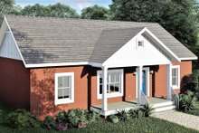 Home Plan - Ranch Exterior - Front Elevation Plan #44-228