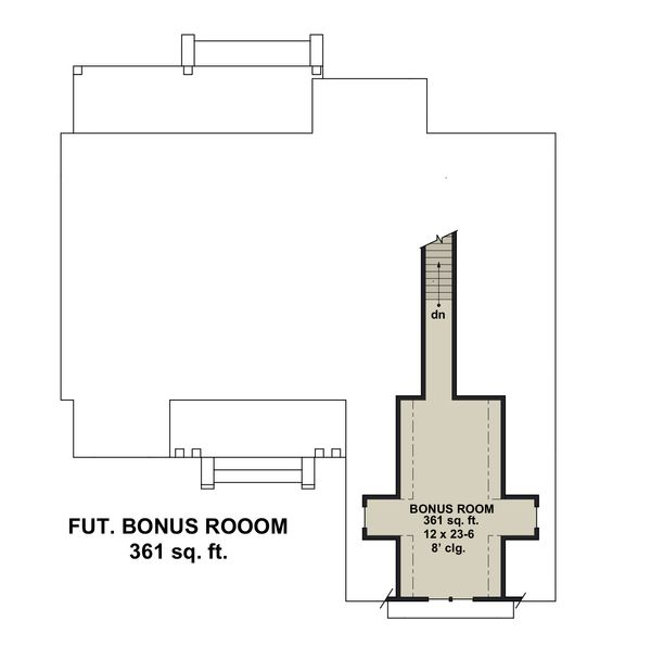 Farmhouse Floor Plan - Other Floor Plan Plan #51-1151
