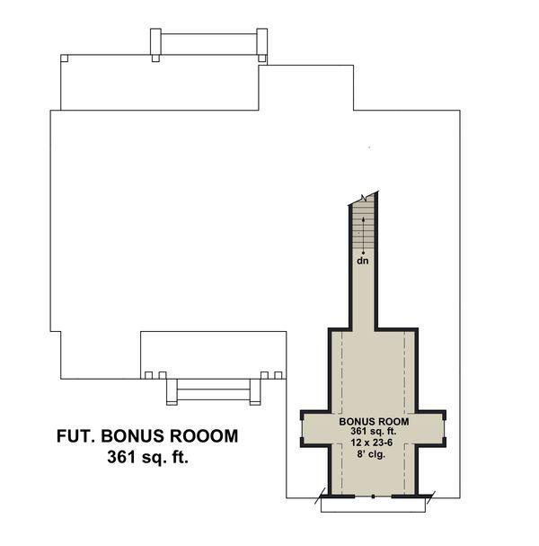 Farmhouse Floor Plan - Other Floor Plan Plan #51-1151