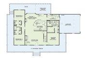 Farmhouse Style House Plan - 3 Beds 3 Baths 1921 Sq/Ft Plan #17-415 Floor Plan - Main Floor Plan