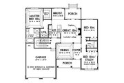 Traditional Style House Plan - 3 Beds 2 Baths 1486 Sq/Ft Plan #929-58 Floor Plan - Other Floor Plan