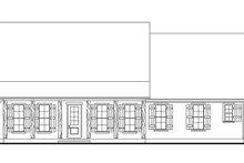 Cottage Exterior - Front Elevation Plan #406-9662