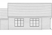 Dream House Plan - Farmhouse Exterior - Rear Elevation Plan #46-489