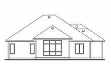 Home Plan - Ranch Exterior - Rear Elevation Plan #20-2255