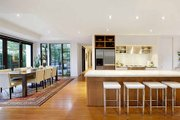 Modern Style House Plan - 5 Beds 2.5 Baths 3882 Sq/Ft Plan #496-1 Interior - Dining Room