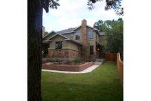 Home Plan - Craftsman Exterior - Rear Elevation Plan #120-170