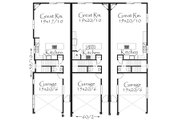 Tudor Style House Plan - 6 Beds 7.5 Baths 5642 Sq/Ft Plan #509-33 Floor Plan - Main Floor Plan