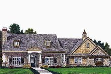 Dream House Plan - Colonial Exterior - Front Elevation Plan #310-693