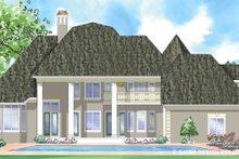 House Design - Classical Exterior - Rear Elevation Plan #930-271