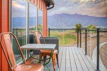 Contemporary Exterior - Outdoor Living Plan #20-2205
