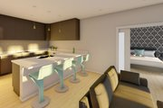 Farmhouse Style House Plan - 2 Beds 2 Baths 928 Sq/Ft Plan #126-175 Interior - Kitchen
