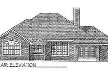 Traditional Exterior - Rear Elevation Plan #70-335