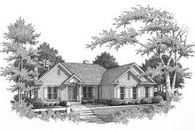 House Design - Traditional Exterior - Other Elevation Plan #22-131