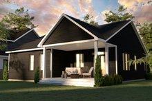 Dream House Plan - Craftsman Exterior - Rear Elevation Plan #23-2733