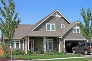 Craftsman Style House Plan - 3 Beds 2.5 Baths 2120 Sq/Ft Plan #48-117 Exterior - Front Elevation