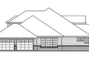 European Style House Plan - 3 Beds 3.5 Baths 6168 Sq/Ft Plan #124-782 Exterior - Other Elevation