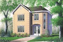House Plan Design - European Exterior - Front Elevation Plan #23-2115