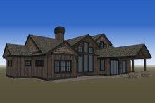 Dream House Plan - Rear Rendering
