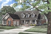 Country Style House Plan - 4 Beds 2 Baths 2777 Sq/Ft Plan #17-287 Exterior - Front Elevation